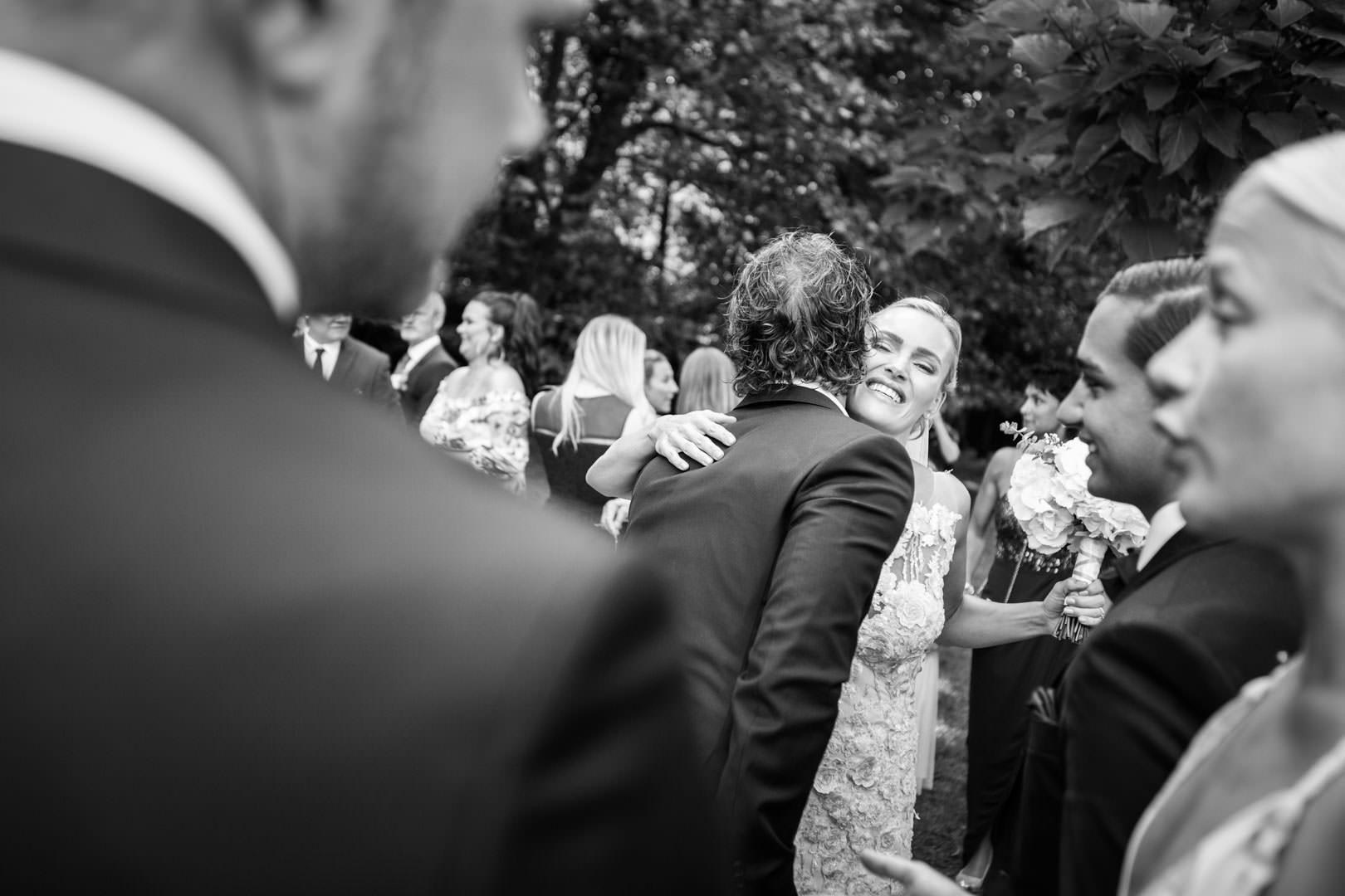 Félicitation à la mariée