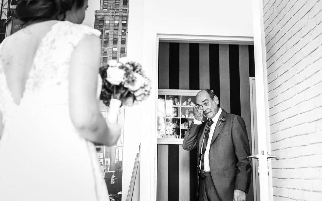 Vive émotion pour le père de la mariée au château de Quincampoix