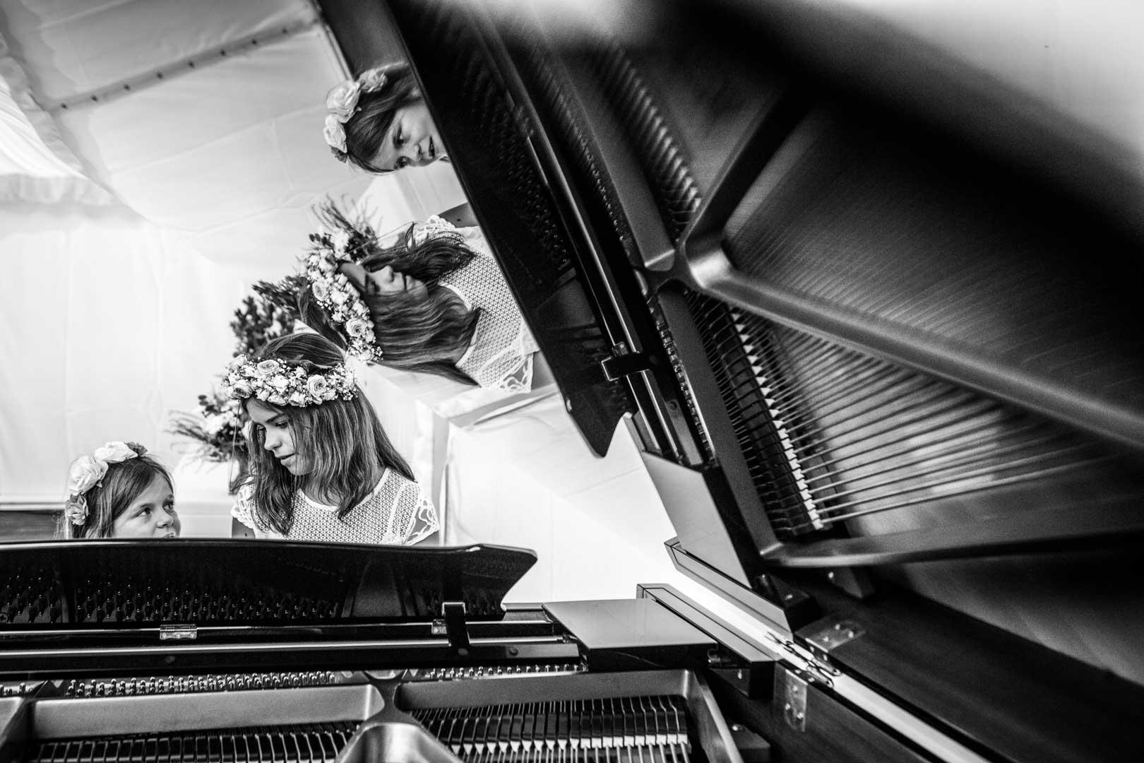 4 filles pour un piano
