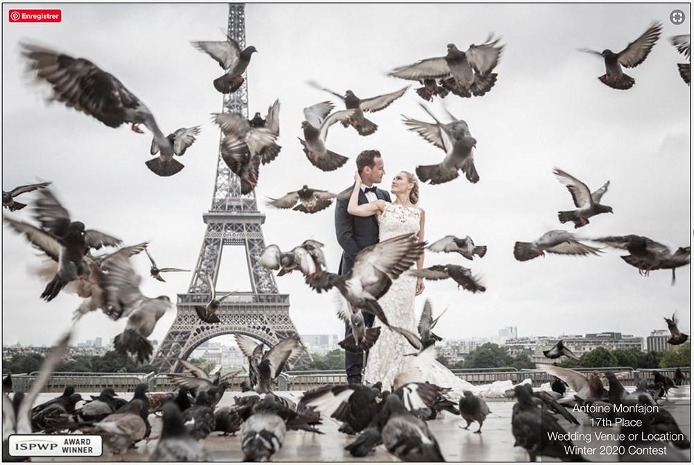 Photo Primé en 2017 par la International Society of Professional Wedding Photographers