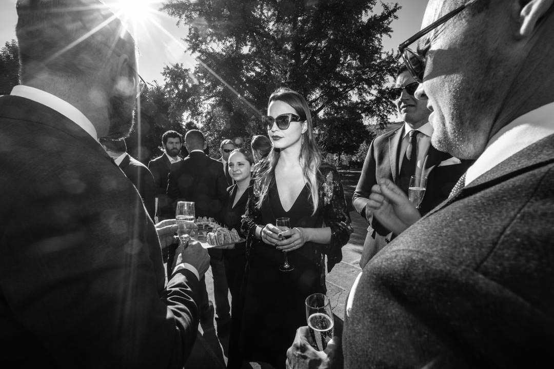 Champagne, petit four et look de star à Isenbourg