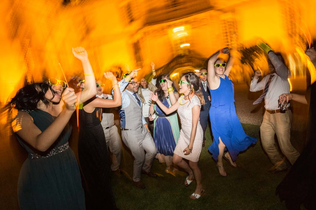 Ambiance festive, mariage au château de Bourron