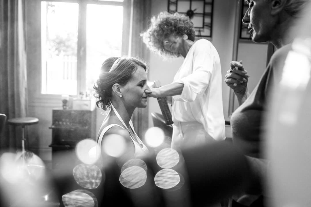 Séance maquillage pour Amélie