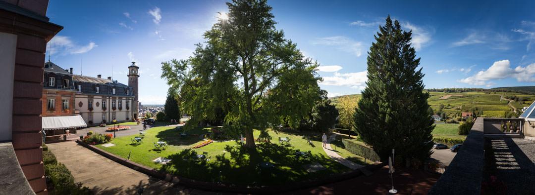 Isenbourg : Panoramique du château