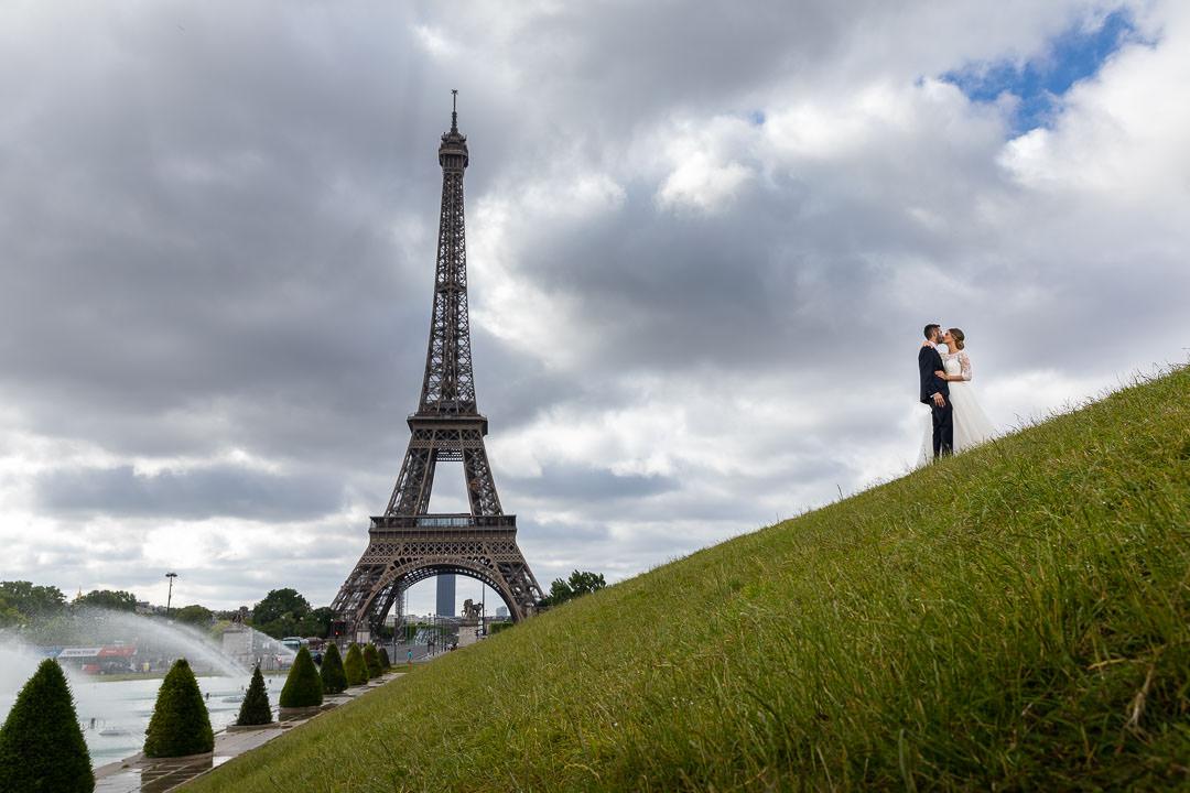 photographe mariage tour eiffel 1