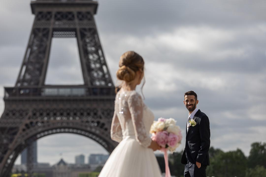 se marier devant la tour eiffel 3
